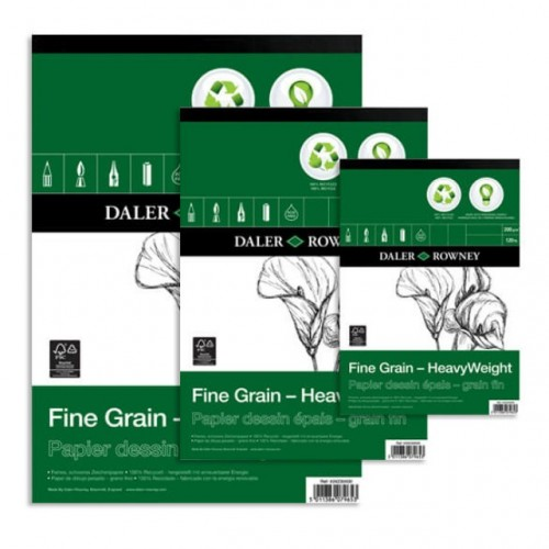 Daler Fine Grain Eco Heavyweight Pad A5 (434230500) 200gsm 30 sheets