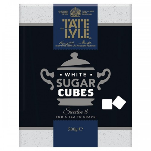 Silver Spoon Sugar White Cubes 500g case of 10  ( 185048 )
