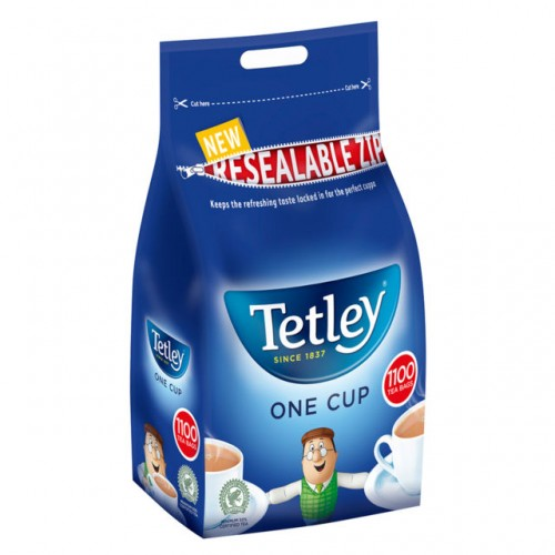 Tetley One Cup 1100 Teabags 2.5KG 189837