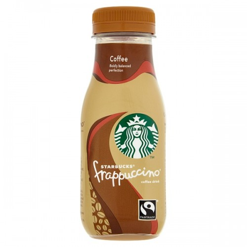 Starbucks Fairtrade Frappuccino Lowfat Coffee Drink Coffee 250ml case of 8