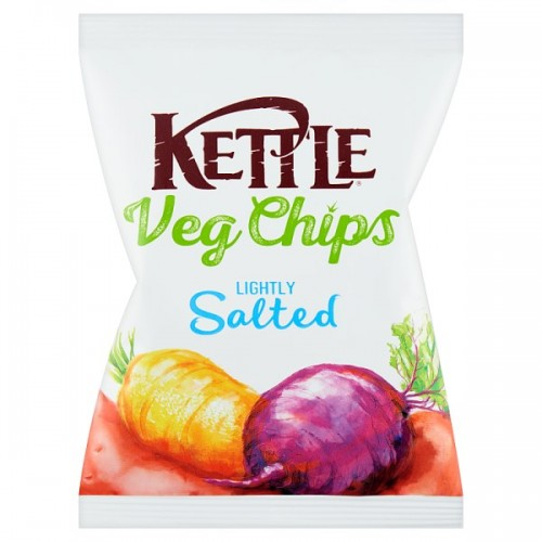 Kettle Chips Veg  Parsnip, Sweet Potato & Beetroot 40g Case of 18