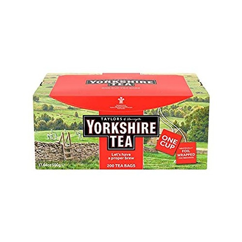 Taylors of Harrogate Yorkshire Tea 200 Tea Bags 500g  240503