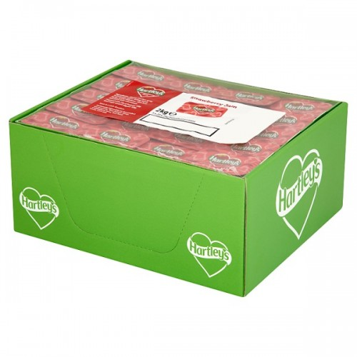 Hartleys Strawberry Jam 5 x 20 x 20g