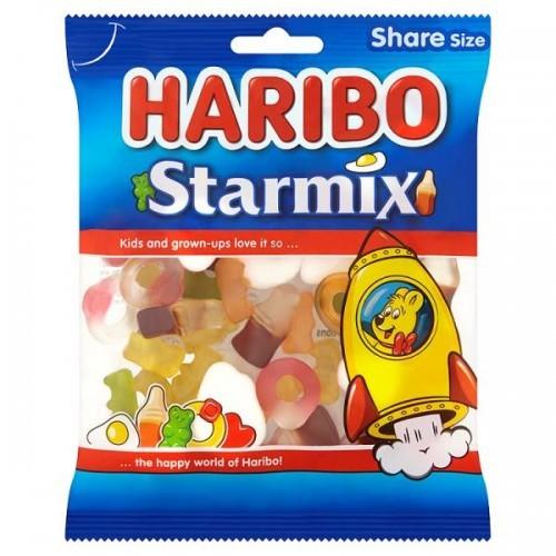 HARIBO Starmix 140g Bag Case of  12