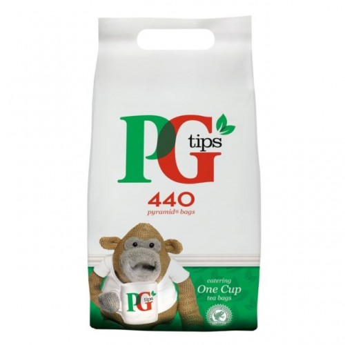 PG Tips 440 One Cup Catering Teabags