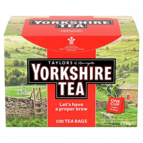 Taylors of Harrogate Yorkshire Tea 100 Tea Bags 250g
