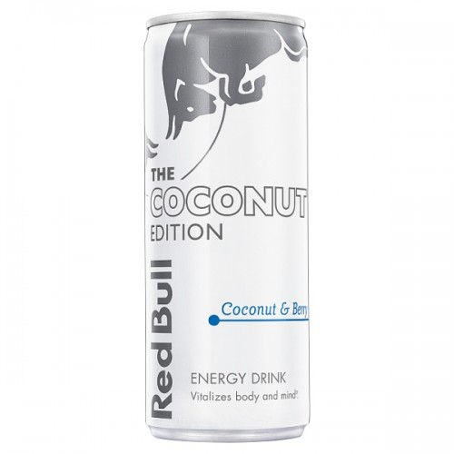 Red Bull Energy Drink Coconut Edition 250ml can case of 24