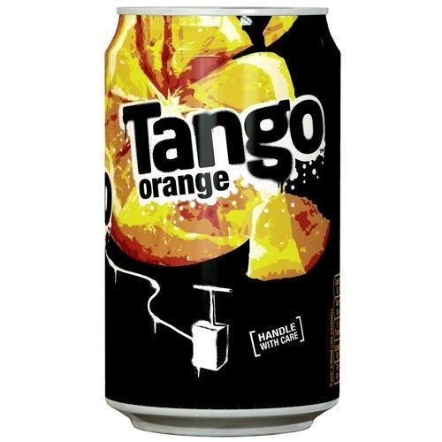 Tango Orange 330ml Cans Case of 24