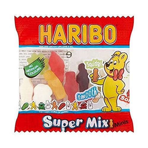 HARIBO Super Mix Minis 16g Pak 100