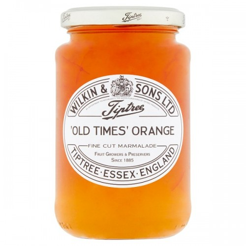 Wilkin & Sons Ltd Tiptree Old Times Orange Fine Cut Marmalade 454g case of 6
