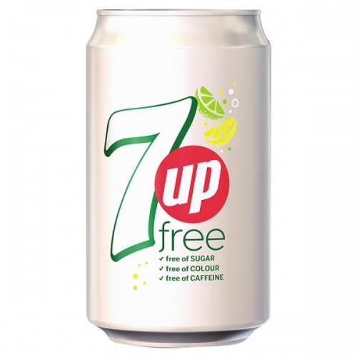 7 Up Sugar Free  330ml Case of 24