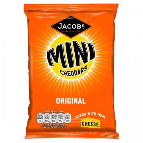 McVities Mini Cheddars Original 30 x 50g bags
