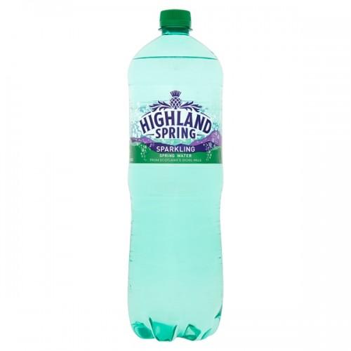 Highland Spring Sparkling Spring Water 1.5L case of 12  (49910)