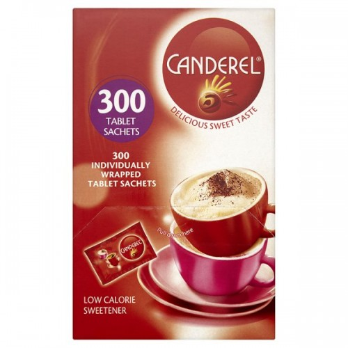 Canderel Low Calorie Sweetener 300 Tablet Sachets
