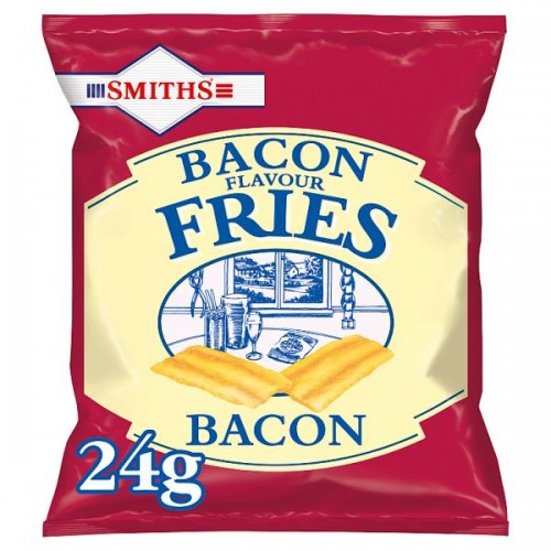 Smiths Bacon Snacks Case of 24