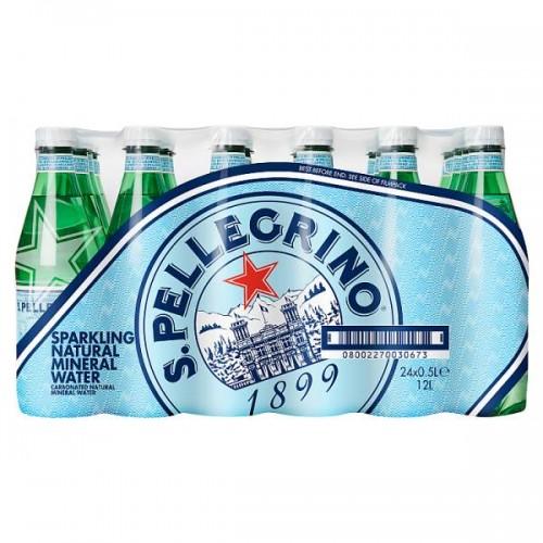 San Pellegrino Sparkling Natural Mineral Water 50cl Case 24