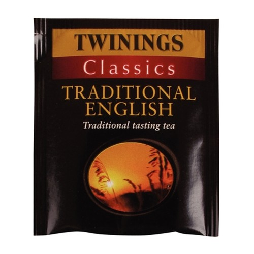 Twinings Classics Traditional English 100 String and Tag Tea Bags 200g