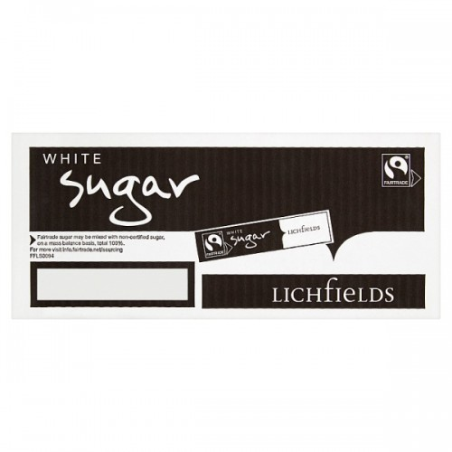 Fairtrade White Sugar Cane 1000 Sticks