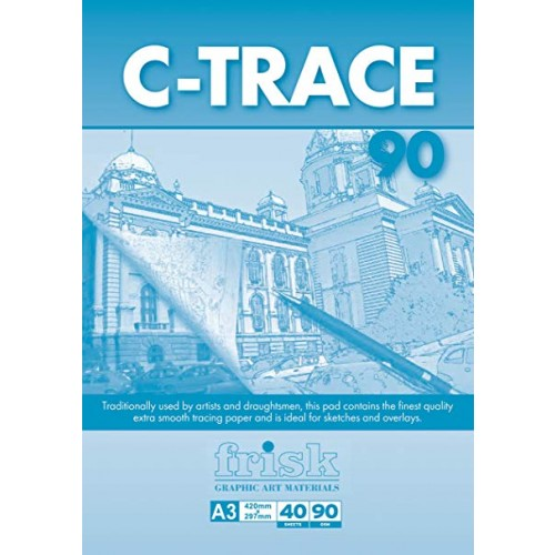 Frisk A3 C-Trace Pad  90gsm  40s
