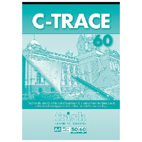 Frisk A4 C-Trace Pad  60gsm  50s