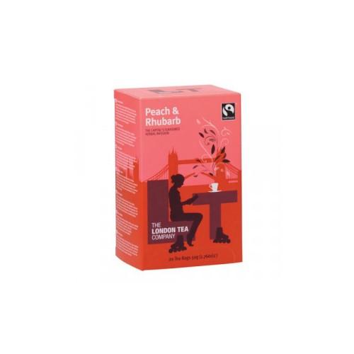 London Tea Company Peach Rhubarb Pk20