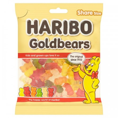 HARIBO Goldbears Bag 140g case of 12