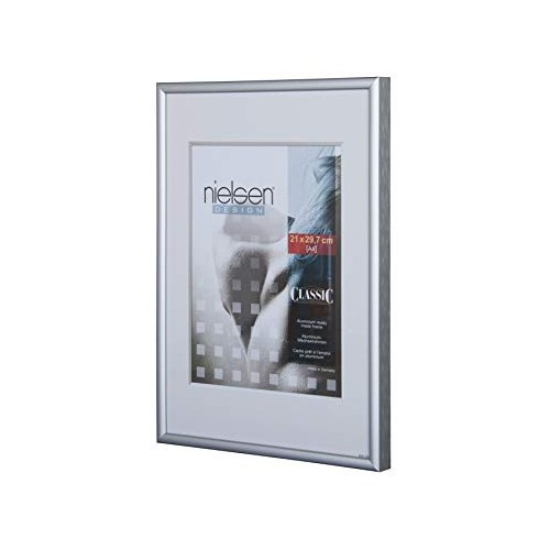 Nielsen Frame 28 x 35 (R32304) Classic Frosted Silver