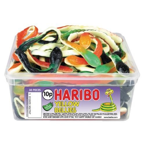 Haribo Giant Yellow Bellies Drum