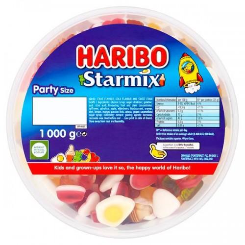 HARIBO Starmix 1kg Drum