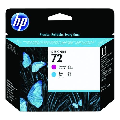 HP No. 72 Ink Printhead - Magenta & Cyan