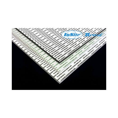 Insite 8ftx4ft 10mm Self Adhesive White foamboard 1220x2440mm PK 13s