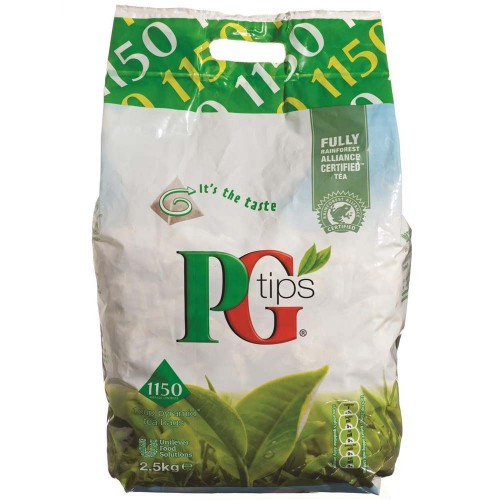 PG Tips 1150 1 Cup Pyramid Tea Bag 2.5kg   234688