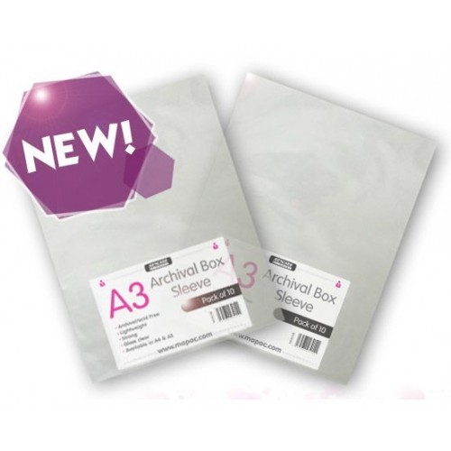 Mapac Archival Sleeves A2  Pack 10