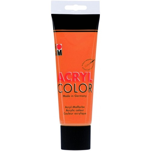 Marabu AcrylColor 225ml  Orange
