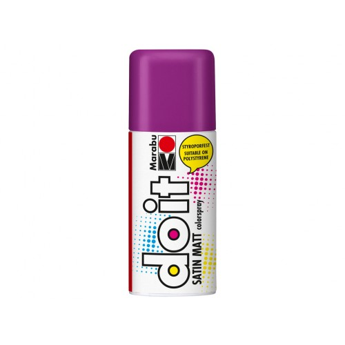 Marabu Do-It Colour Spraypaint Amethyst Satin Matt 150ml  (081)