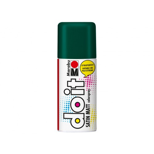 Marabu Do-It Colour Spraypaint Leaf Green Satin Matt 150ml  (068)
