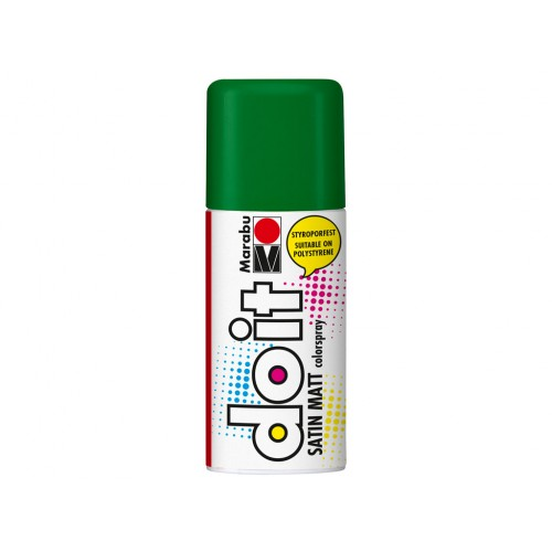 Marabu Do-It Colour Spraypaint Olive Green Satin Matt 150ml  (065)