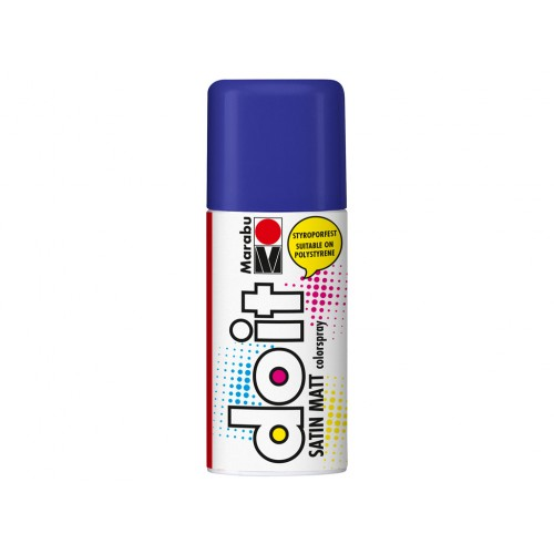 Marabu Do-It Colour Spraypaint Plum Satin Matt 150ml  (037)