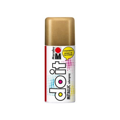 Marabu Do-It Colour Spraypaint Red Gold Metallic 150ml  (786)