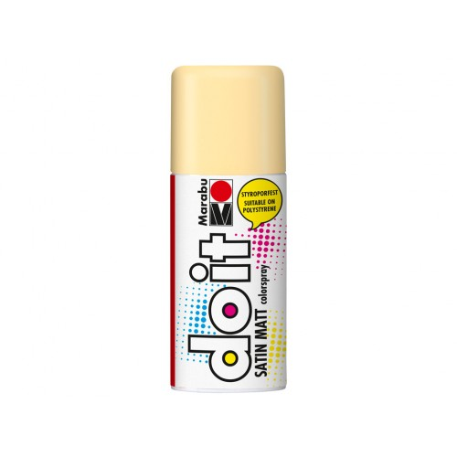 Marabu Do-It Colour Spraypaint Sand Satin Matt 150ml  (042)