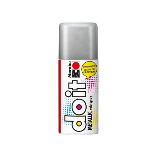 Marabu Do-It Colour Spraypaint Silver Metallic 150ml  (782)