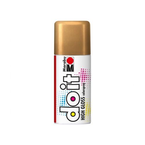 Marabu Do-It Colour Spraypaint Gold High Gloss 150ml  (484)