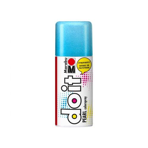 Marabu Do-It Colour Spraypaint Blue Pearlescent 150ml  (252)