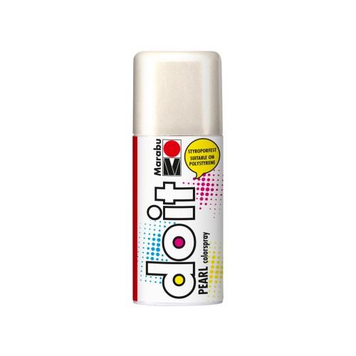 Marabu Do-It Colour Spraypaint White Pearlescent 150ml  (270)