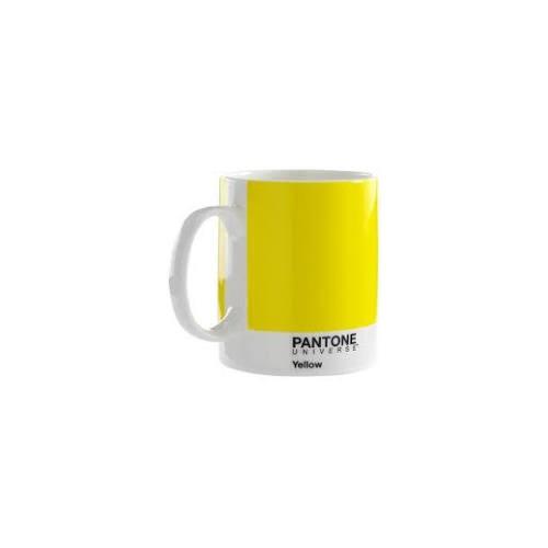 Pantone Bone China Mug Custard Yellow