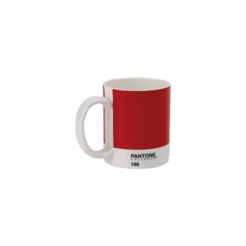 Pantone Bone China Mug Ketchup Red 186