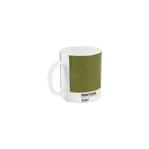 Pantone Bone China Mug Olive Green 5757