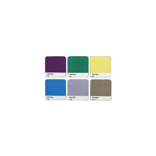 PANTONE Coasters MIXED colours x 6 Interior Tones