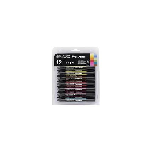 W&N ProMarker 12 Colour Set 2   (28381)