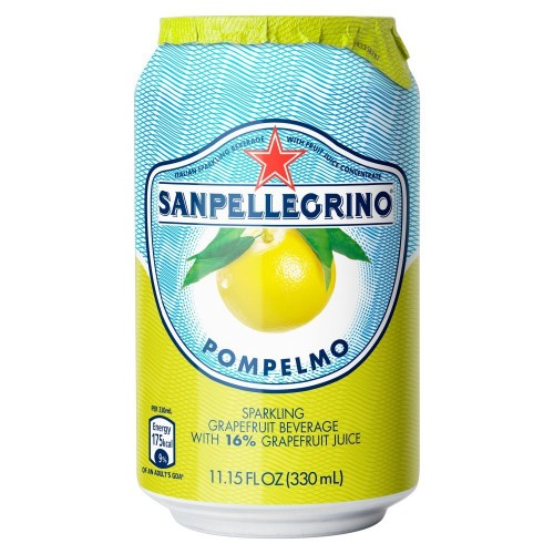 Sanpellegrino Pompelmo 33cl can - case of 24